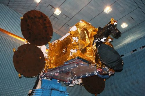 Astra 1M satellite under test