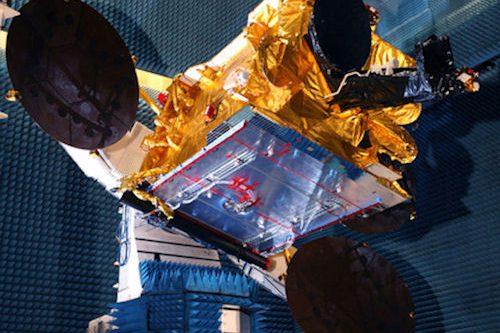 Astra-1N satellite under construction