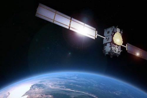 Astra 3B satellite in orbit