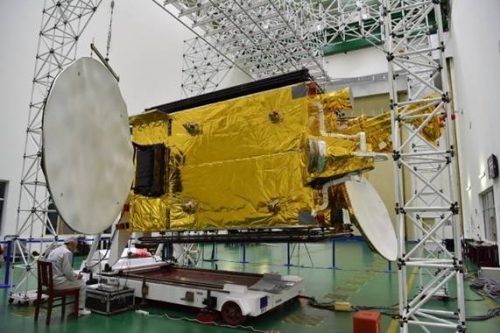 ChinaSat satellite constructed by CAST