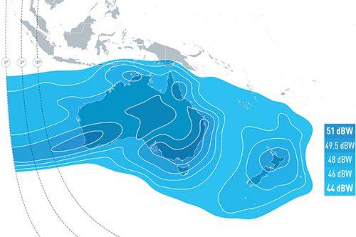E172B Ku-band South Pacific downlink