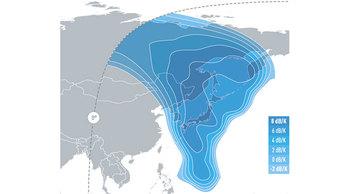 E174A Ku-band North-East Asia Uplink
