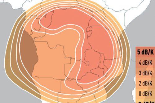 E3B example provisional Ku-band steerable Africa uplink coverage