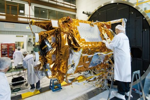 EADS Astium constructs Hotbird satellite