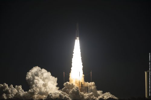 EUTELSAT 172B launched by an Ariane 5 ECA from Kourou