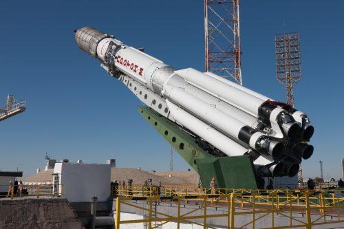 Eutelsat 5 West B on Launch Pad
