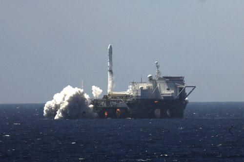 EUTELSAT 7 West A launch by Sea Launch