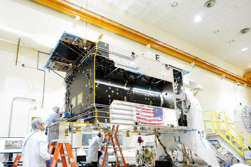 EUTELSAT 7C satellite built by Space Systems Loral