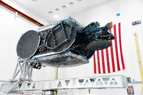 EchoStar-23 satellite prepared for launch
