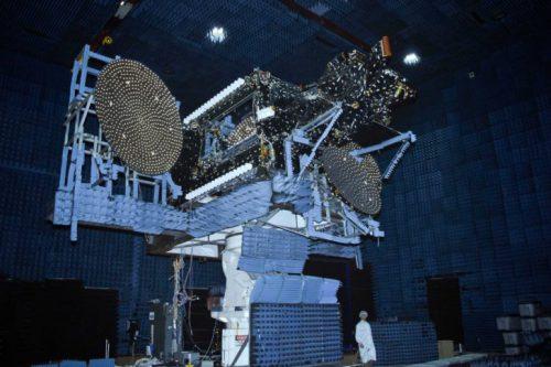 EchoStar-23 satellite under test