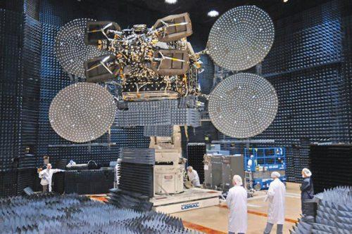 Echostar XVII-Jupiter-1 satellite constructed by SSL