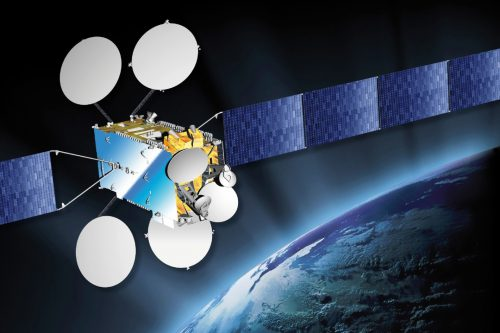 Eutelsat 12 West A Satellite in orbit