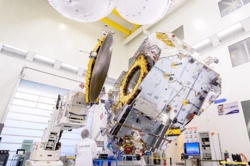 Eutelsat 16A under construction