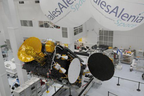 Eutelsat 21B built by Thales