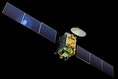 Eutelsat 28F satellite in orbit