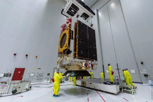 Eutelsat 5 West A prepared for launch