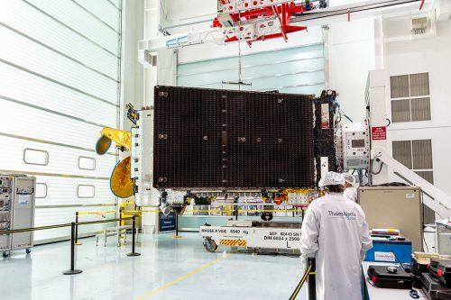 Eutelsat 8 West B under construction