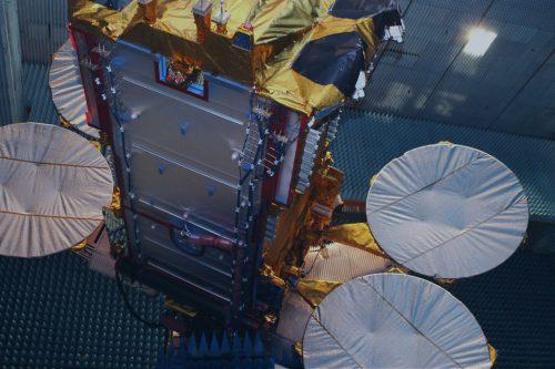 Eutelsat KA-SAT under construction