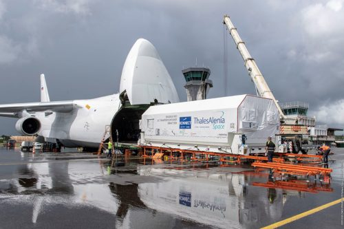 Eutelsat KONNECT arrives in French Guiana