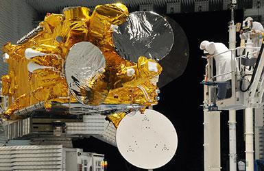 Eutelsat W2A under construction