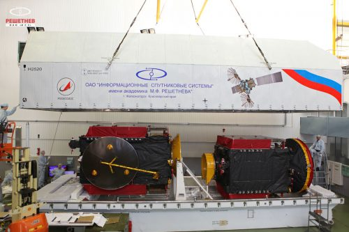 Express AT satellites ready for transport