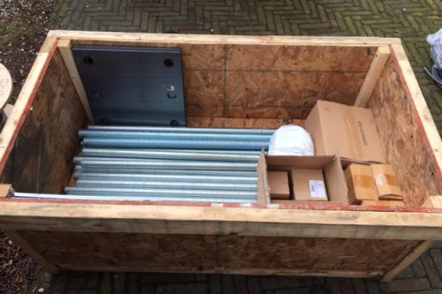 Foundation kit for Earth Station Antennas