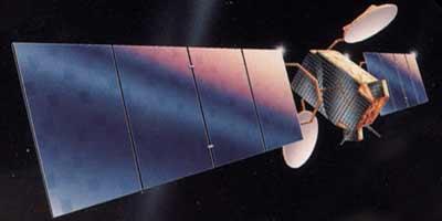 GE-2 (AMC-2) satellit in ornit