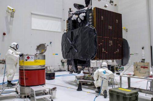 HYLAS 4 satellite prepared for launch