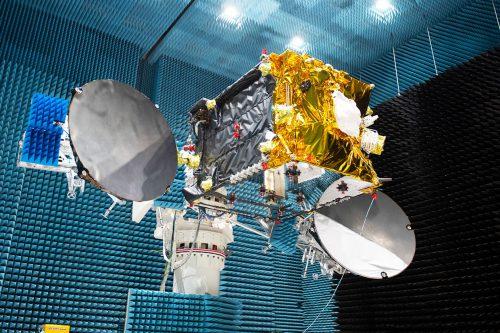 HYLAS Satellite test