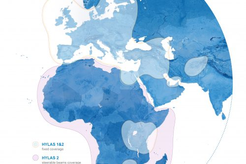 Hylas-2 coverage map
