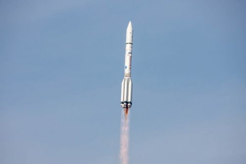 ILS Proton launching Astra 2E