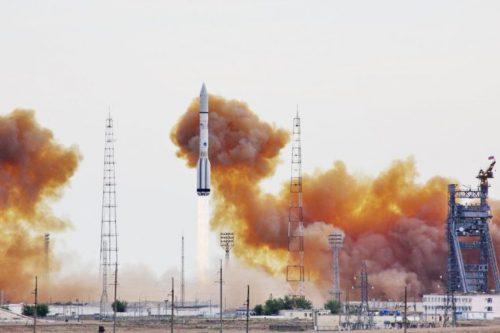 ILS Proton launching Inmarsat-4 F3