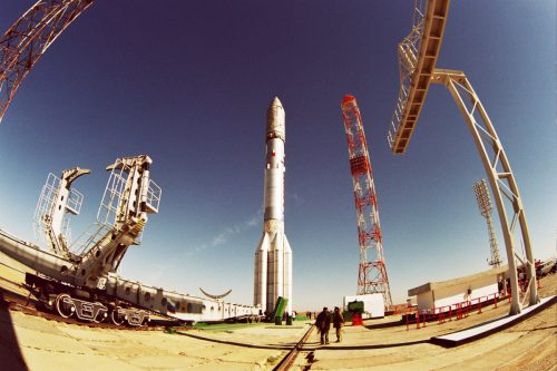 ILS' Proton M with Anik F3 ready for launch
