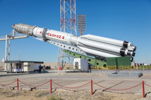 ILS Proton with AMC-23:GE-23:Eutelsat 172A:Eutelsat 174A