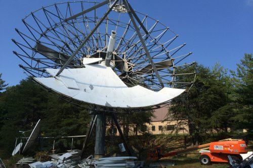VertexRSI 18.3m antenna