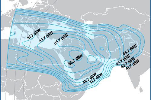 Intelsat-15 Middle-East Footprint
