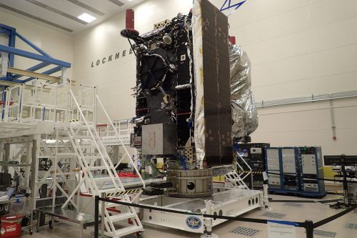JCSAT-10 under construction