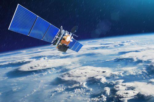 JCSAT-13 Satellite in orbit