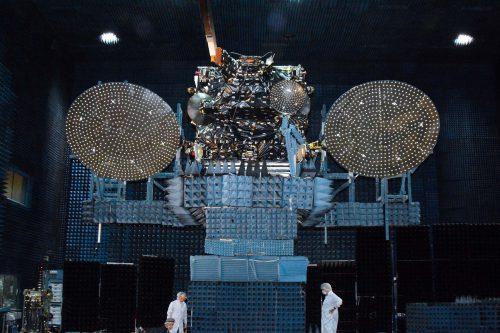 JCSAT-16 under test