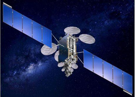JCSAT-9 satellite in orbit