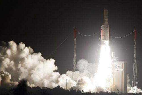 JCSat-110R/BSAT-3c satellite launch