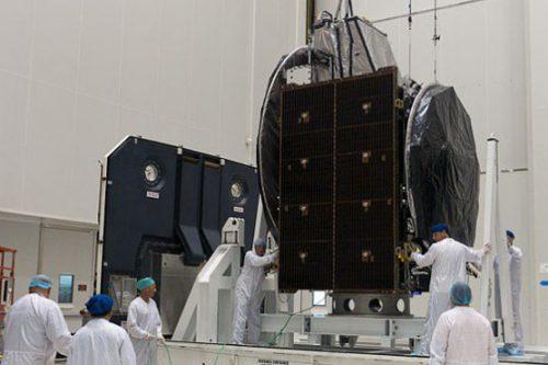 JCSat-110R/BSAT-3c satellite under construction