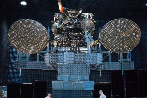 JCSat-12 under test