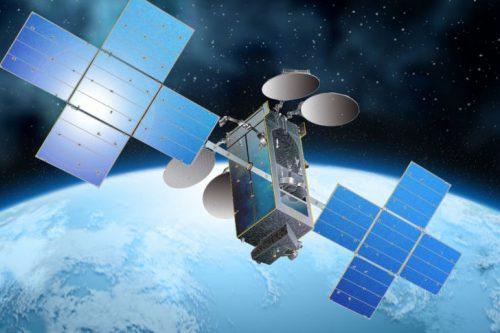 Intelsat-11 satellite in orbit