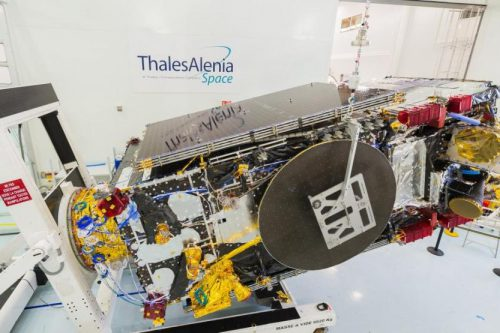 KoreaSat-7 satellite under test