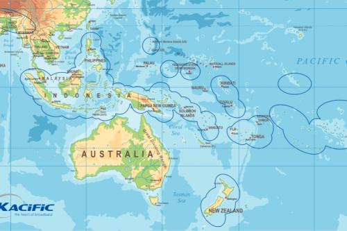 Kacific-1 Spotbeams