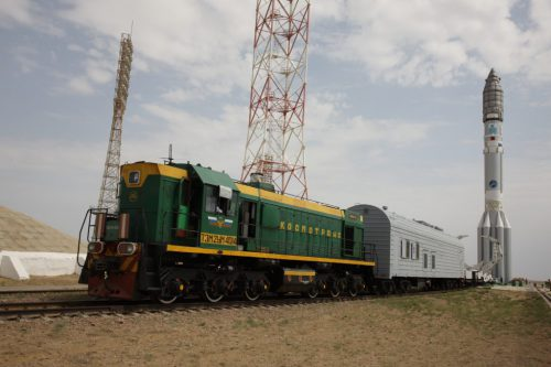 KazSat-2 transported to launch site