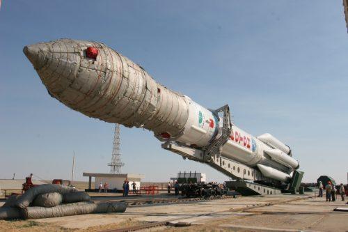 KazSat on Proton launcher