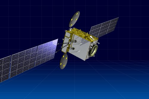 Kazsat-3 satellite in orbit