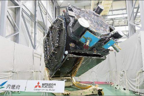 MELCO satellite under construction